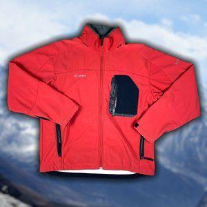 Columbia Titanium Mens Soft Shell Jacket Size L